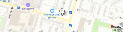 Гавар на карте Днепропетровска