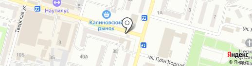 Пряжа на карте Днепропетровска