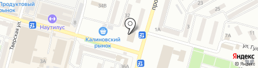 Комиссионный магазин на карте Днепропетровска