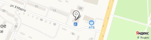 Терминал самообслуживания, Райффайзен Банк Аваль на карте Юбилейного