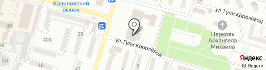 Перспектива на карте Днепропетровска