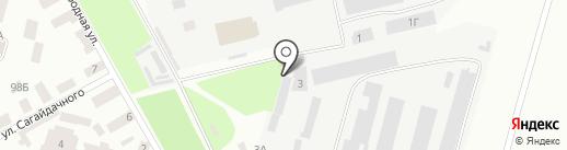 Ирбис-авто на карте Днепропетровска