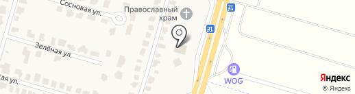4-е комнаты на карте Подгородного