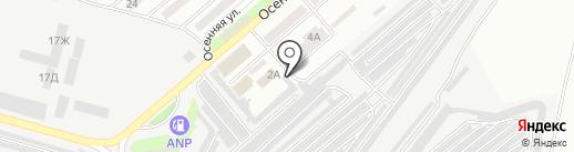 Тон-Сервис на карте Днепропетровска