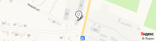 Салхино на карте Подгородного