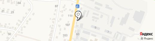 Магазин нижнего белья и текстиля на карте Подгородного