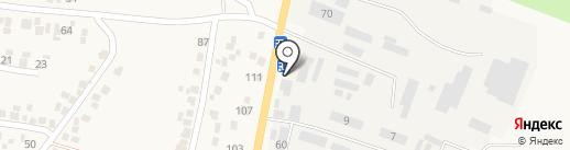 Дубрава на карте Подгородного