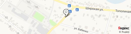 Автотайм на карте Подгородного