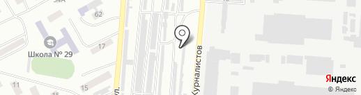 АВТО ТОН на карте Днепропетровска
