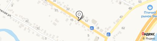 Цветочный магазин на карте Подгородного