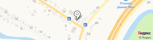 Катюша на карте Подгородного