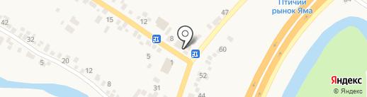 Магрок на карте Подгородного