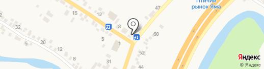 Салтовский мясокомбинат на карте Подгородного