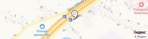 Кондитерский магазин на карте Подгородного