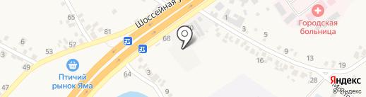 АвтопаркСервис на карте Подгородного