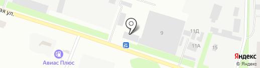 ГудВей Транс на карте Днепропетровска