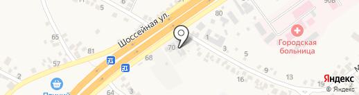 Склад-магазин строительных материалов на карте Подгородного
