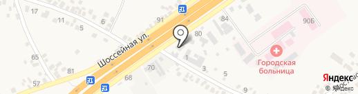 НОВА ПОШТА на карте Подгородного