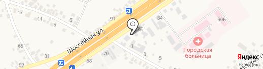 Элика на карте Подгородного