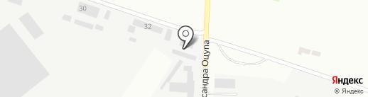 К.М.К на карте Днепропетровска