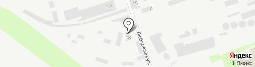 Днепр-Берест на карте Днепропетровска