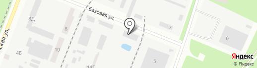 Данья на карте Днепропетровска