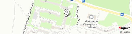 Абонентский отдел на карте Днепропетровска