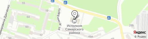 Управління праці та соціального захисту населення Самарського району на карте Днепропетровска