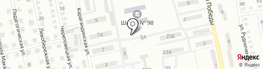 Скутер на карте Днепропетровска