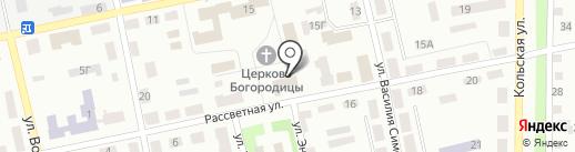 Жіноча консультація на карте Днепропетровска