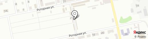 Лакомка на карте Днепропетровска
