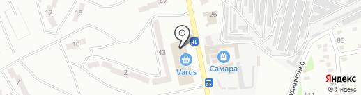 Чао-Какао на карте Днепропетровска