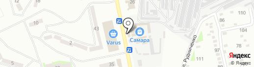 КБ ПриватБанк на карте Днепропетровска
