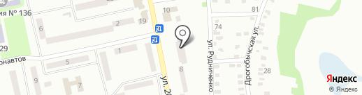 Абонентский отдел Самарского района на карте Днепропетровска