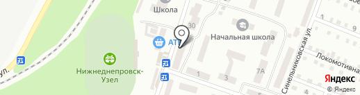 Детский магазин на карте Днепропетровска