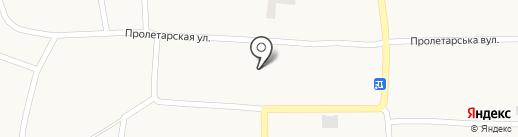 Любимівська амбулаторія на карте Любимовки