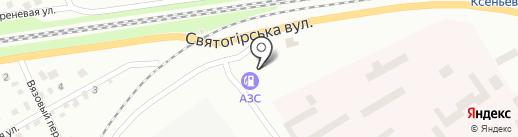 АГЗС Эссенс-Премиум на карте Днепропетровска