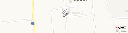 Магазин на карте Любимовки