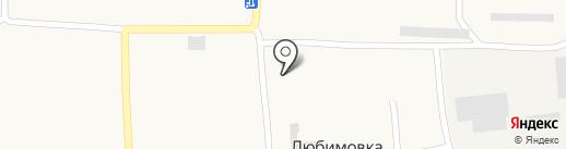 Дільничний пункт поліції на карте Любимовки