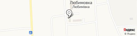 Хозяйственный магазин на карте Любимовки