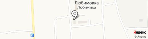 Продуктовый магазин на карте Любимовки
