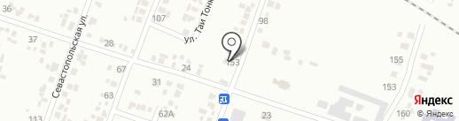 Почтовое отделение №3 на карте Новомосковска