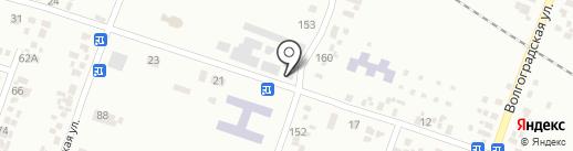 Магазин хозтоваров на карте Новомосковска