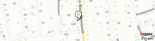 Детский развивающий центр на ул. Воспоминаний на карте Днепропетровска