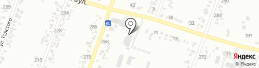 Торговая фирма на карте Новомосковска