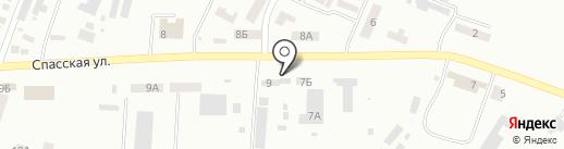 Корзинка на карте Новомосковска