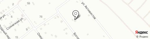 Аллюр на карте Днепропетровска