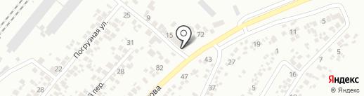 Центр кузовных работ на карте Новомосковска