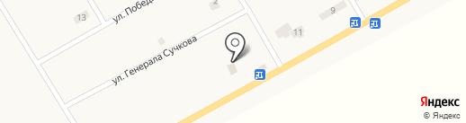 Храм Воскресіння Христового на карте Александровки