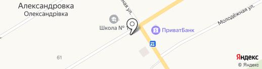Мебельный магазин на карте Александровки